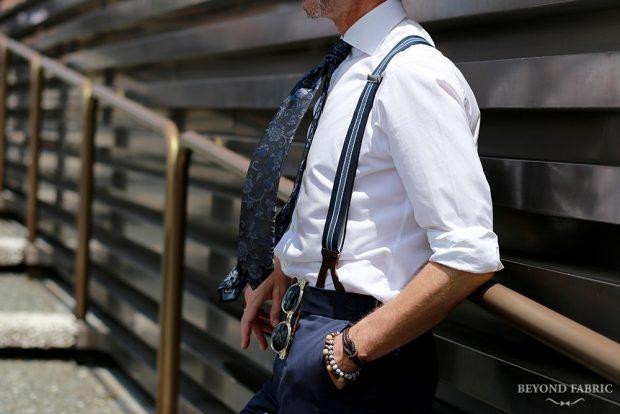 How to Keep Your Dress Shirt Collars Looking Crisp: Pitti Uomo