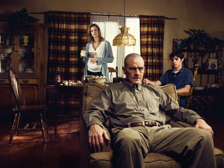 Walter White's Wardrobe From Breaking Bad: Walter on couch breaking bad