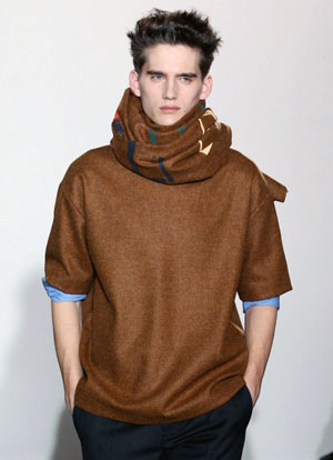 t-shirt sweater man's winter wardrobe
