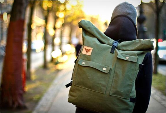 messenger canvas bag man's winter wardrobe
