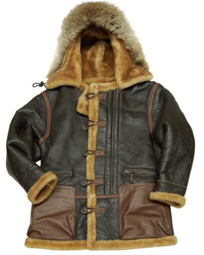 Winter wardrobe parka for men