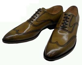 Wingtip footwear winter wardrobe