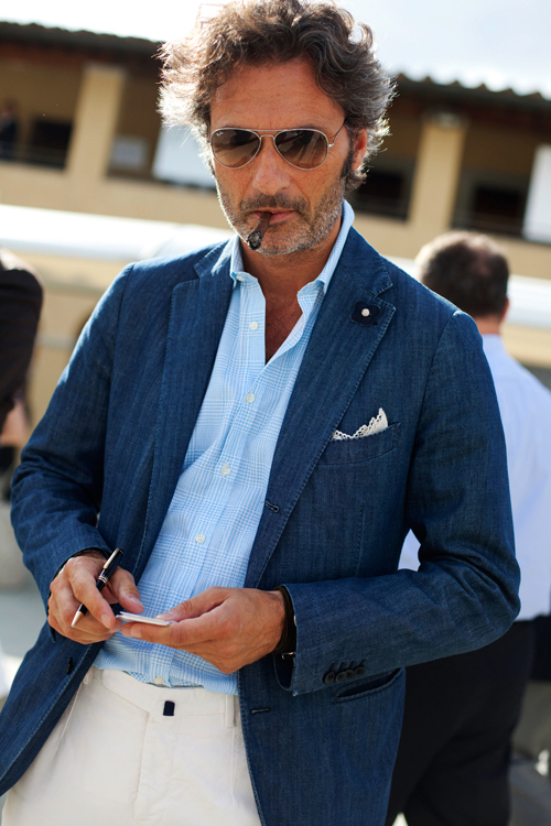 denim-blazer-the-sartorialist