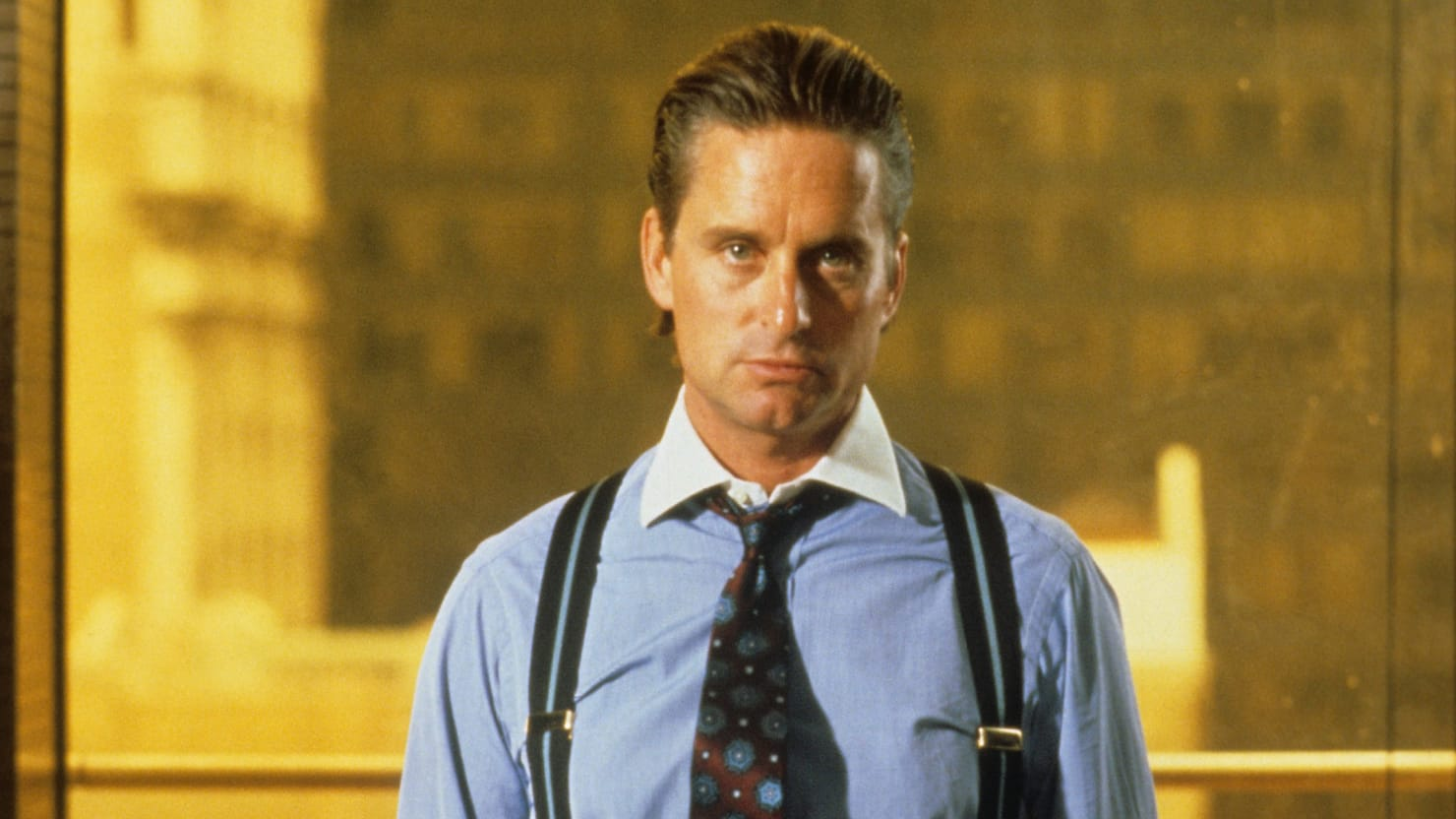 Wall Street Style Featuring The Iconic Gordon Gekko