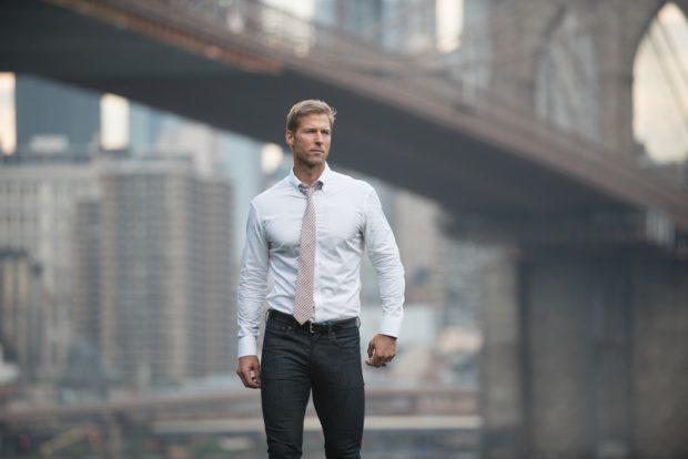 mens white dress shirt - white oxford