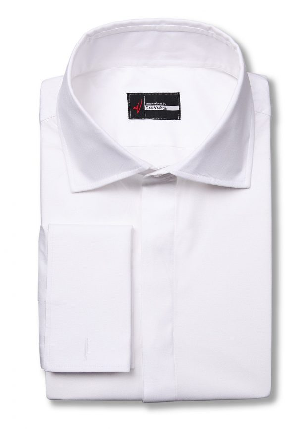 Formal White Dress Shirt