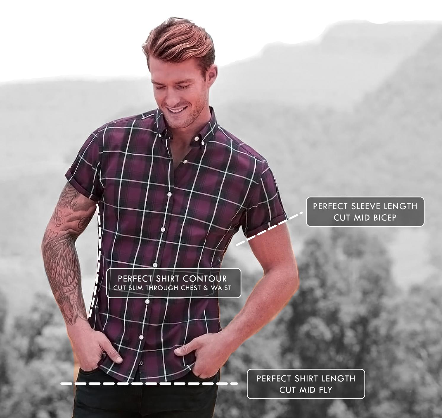 perfect mens short sleeve dress shirt