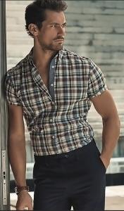 mens short sleeve dress shirts proper length