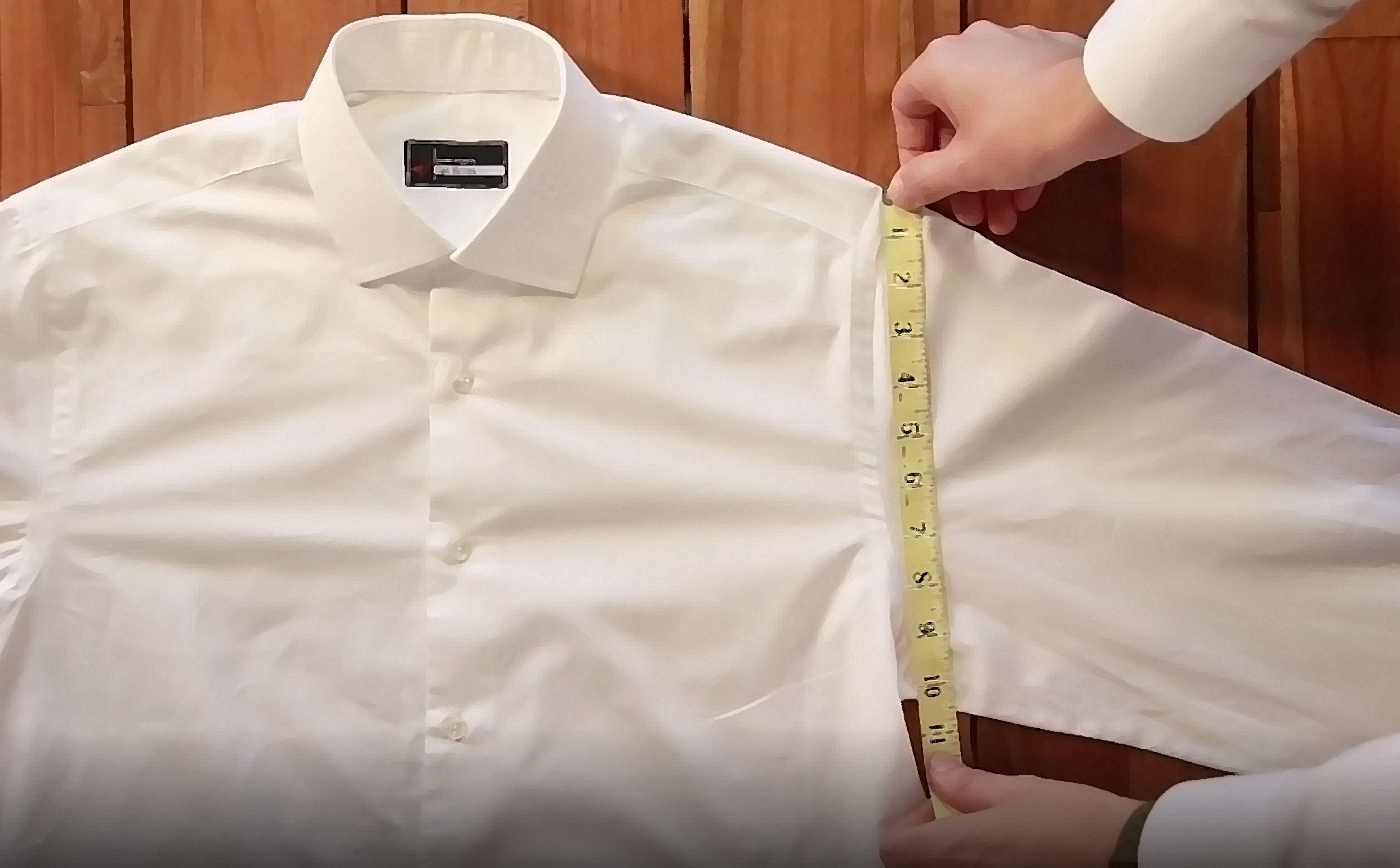 how to measure a shirt explained