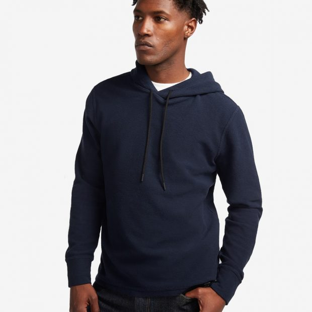 blazer with hoodie