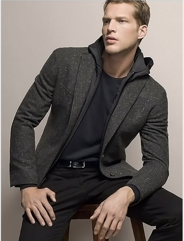 blazer with hoodie outfit