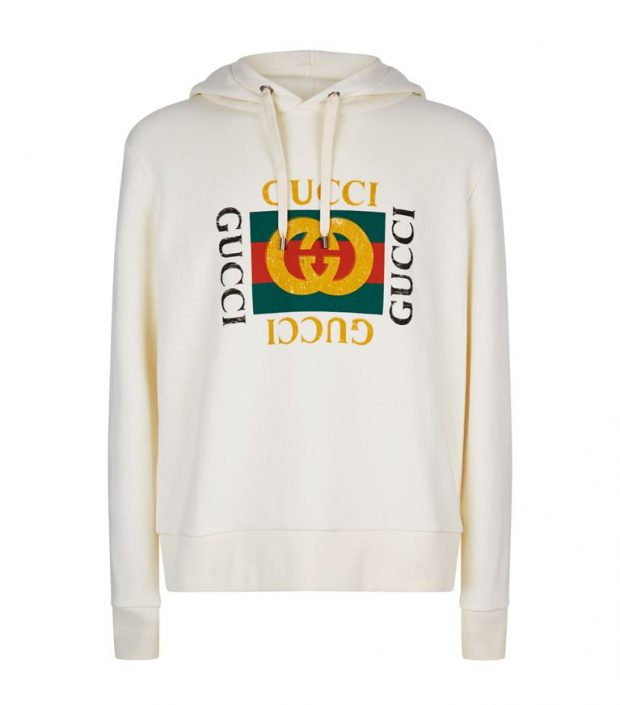 hoodie with blazer from Gucci