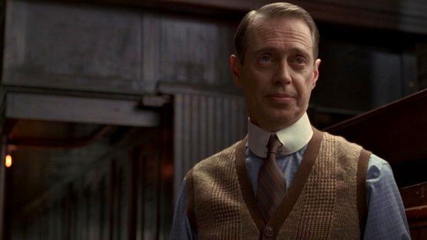 nucky thompson contrast collar shirt