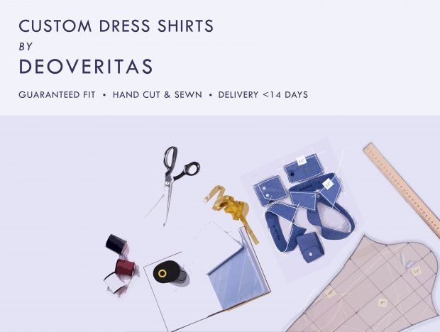 CUSTOM DRESS SHIRTS BY DEO VERITAS
