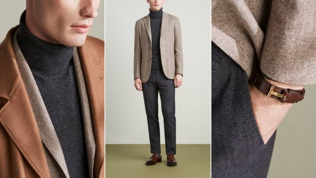 Style Tips For The Best Autumn Men's Outfits: layering options