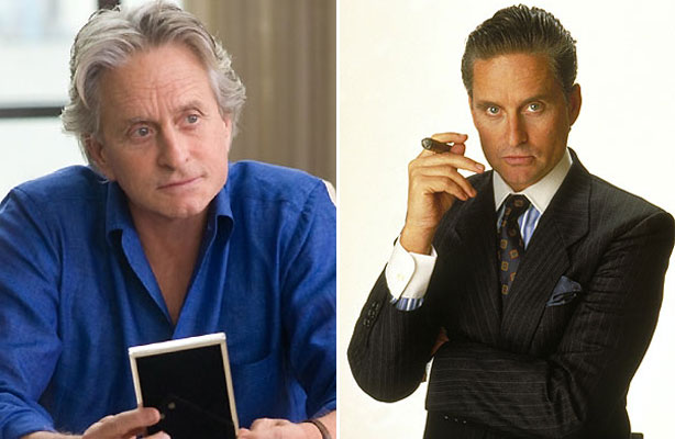 Wall Street Style - Featuring The Iconic Gordon Gekko: before and after
