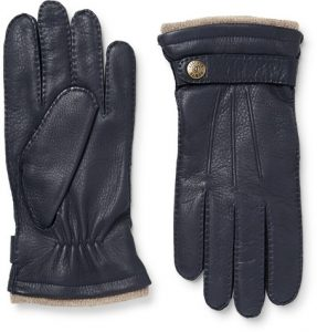 Style Tips For The Best Autumn Men's Outfits: dents england gloves