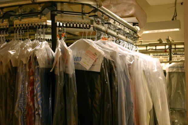 dry cleaner garment rack for the proper in dress shirt care