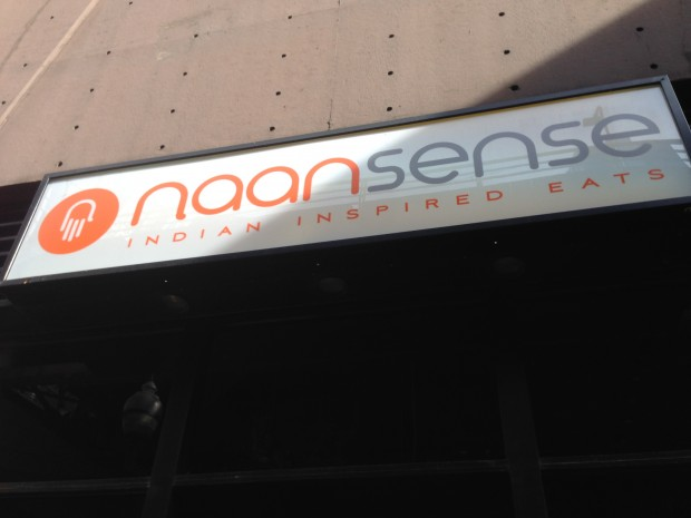 Naansense signage and Deo Veritas fitting event