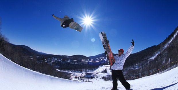 Winter Getaway: Vermont - snowboarding
