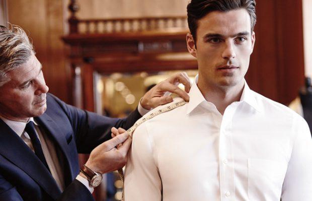Bespoke and custom dress shirts: Getting measured