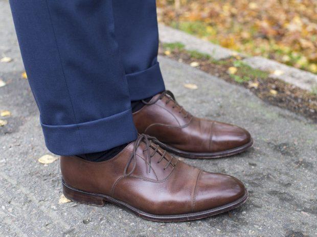 Business Professional Attire Vs. Business Casual: dress shoes