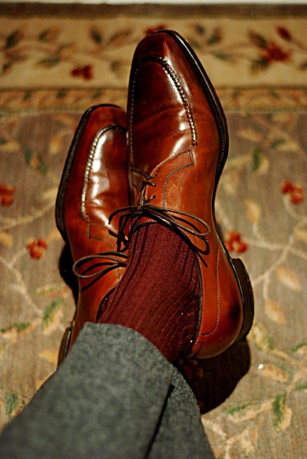 Business Professional Attire Vs. Business Casual: dress socks