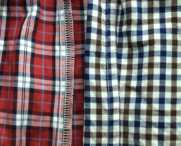 Bespoke and made to measure shirts: Overlock versus single needle stitching
