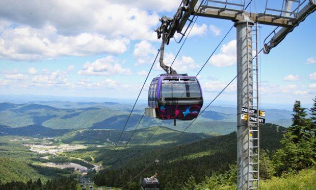 Winter Getaway: Vermont - ski lift