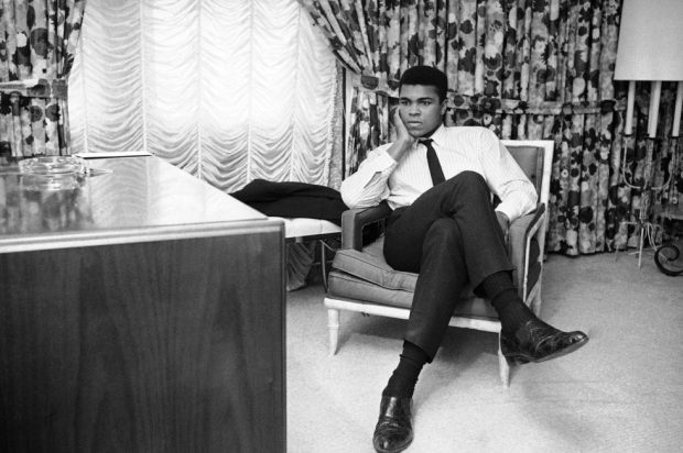 Boxing Legend And Style Icon Muhammad Ali: reflecting on thoughts