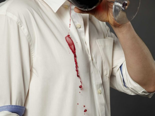 How To Wash And Care For Your Dress Shirts: handling stains