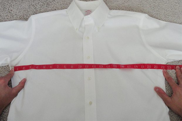 Bespoke and Custom Dress shirts: Measuring an existing shirt