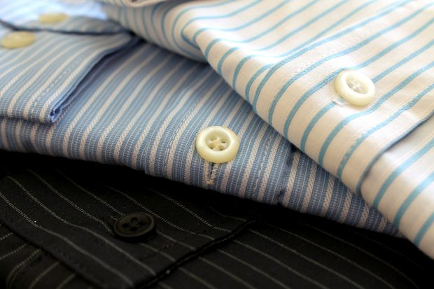 How To Prevent And Reduce Dress Shirt Shrinkage: proper folding