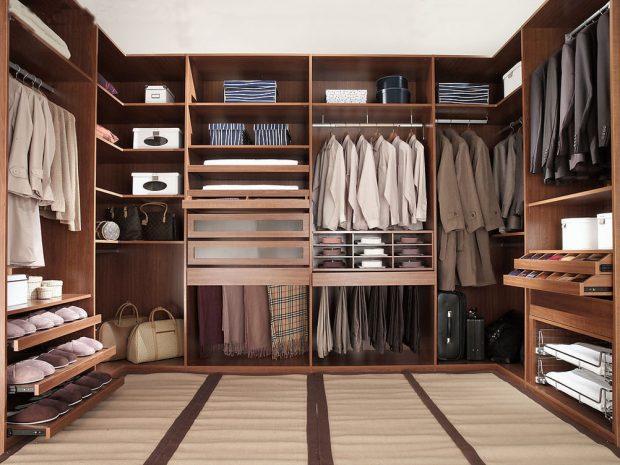 How To Fold Dress Shirts And Pack Them Properly: closet organization