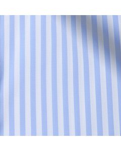 Sylvia - Carolina Blue Stripe Performance Stretch