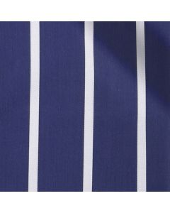 Sylvia - Navy Wide Pinstripe Performance Stretch