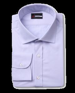 Light Blue Poplin - Cotton / Bamboo Blend Dress Shirt