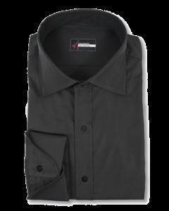 Metro - Black Performance Stretch Dress Shirt