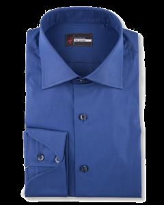 Metro - Dark Blue Performance Stretch Dress Shirt