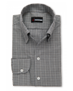 Pescado - Grey Black Tattersall Dress Shirt