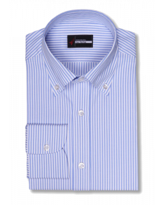 Milward - Blue White University Oxford Dress Shirt