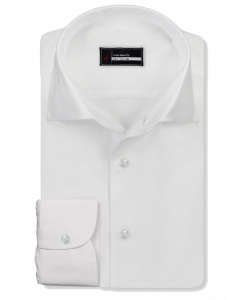 Palermo - White Twill 100s Dress Shirt