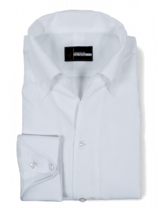 Linda Meander - White Linen / Cotton Dress Shirt