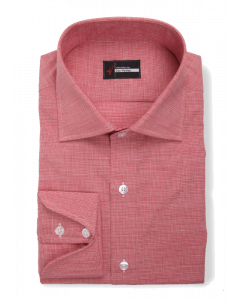 Zuma - Red Mini Houndstooth Dress Shirt