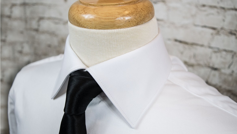 Italian Spread Collar - Dress Shirt Collar Styles   Deo Veritas