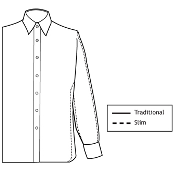 Super Slim Fit Dress Shirts Deo Veritas