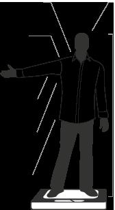 Qsize human figure